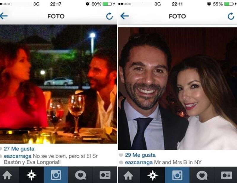 Emilio Azcárraga es muy amigo de Pepe Bastón por eso comentó las imágenes de él con Eva.