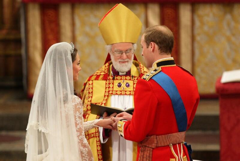 La ceremonia religiosa que duró 110 minutos.