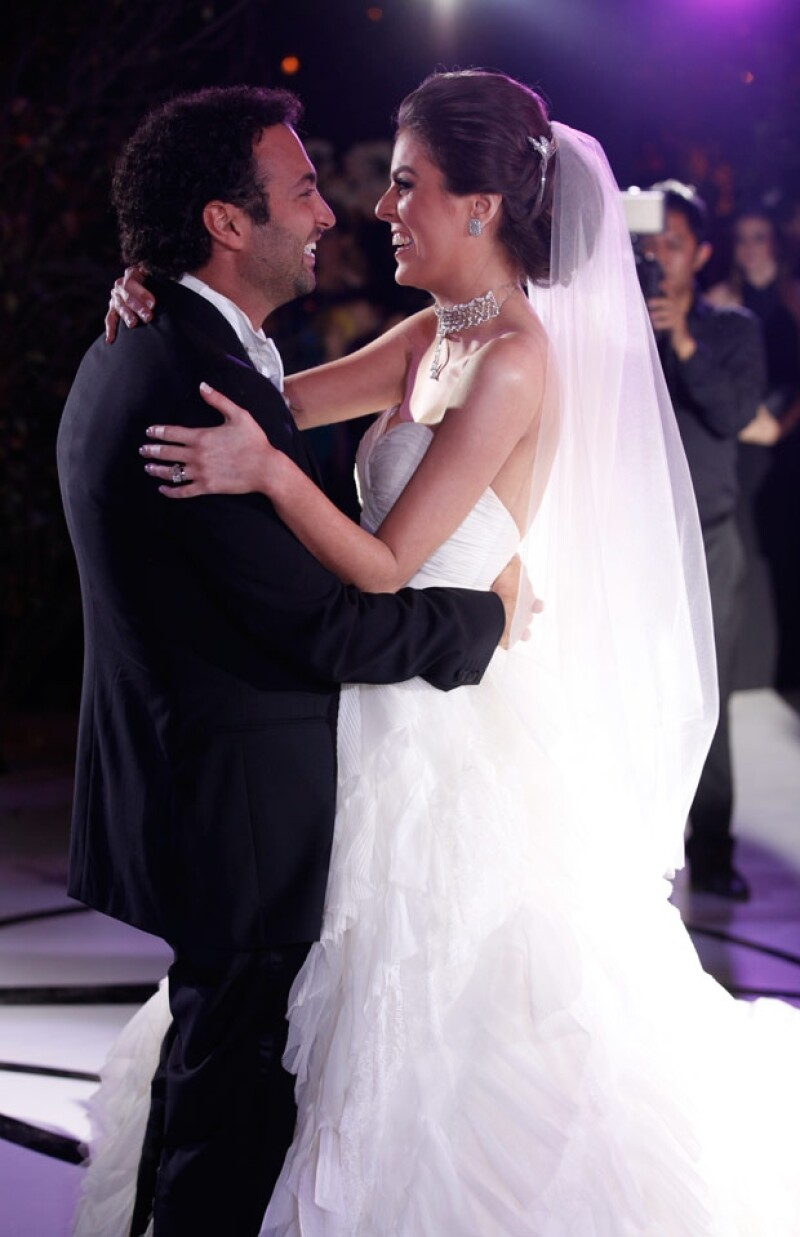 Yael Sandler y Daniel Cohen se casaron el sábado en la ex Hacienda de Santa Mónica