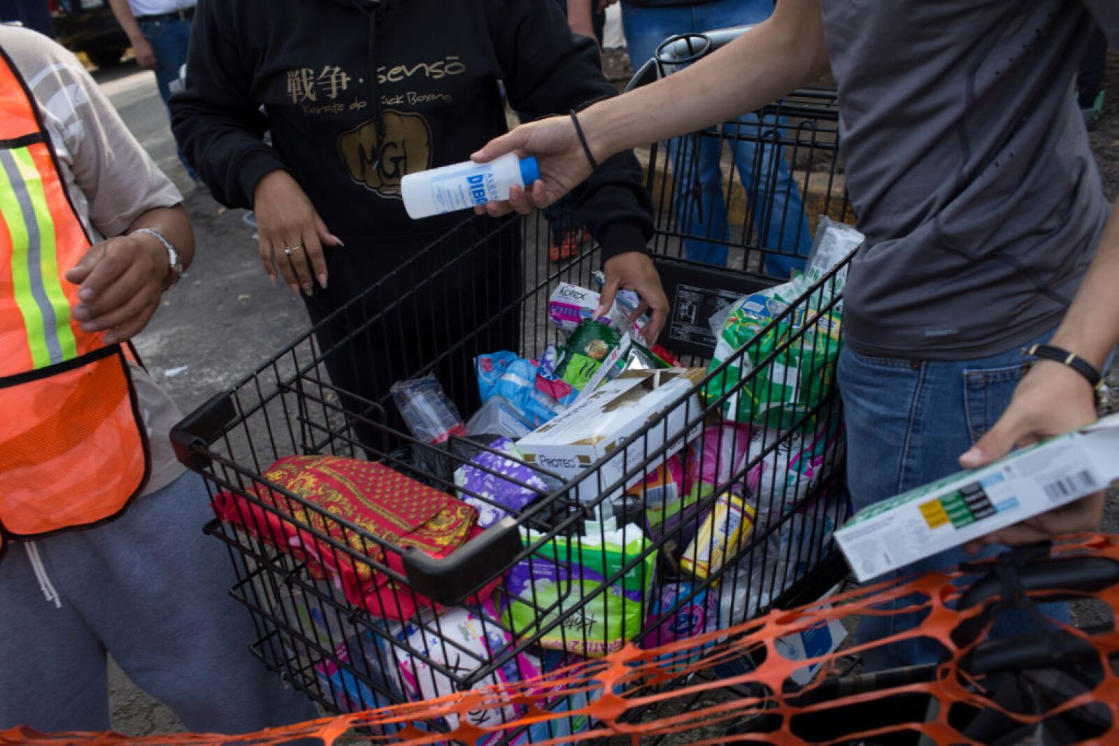 Apoyo en México después del terremoto del 19 de septiembre
