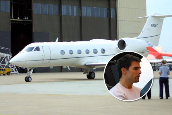 Tom Cruise, avión