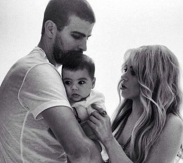 Esta fue la imagen que compartió la pareja en sus redes sociales para conmemorar los 4 meses del nacimiento de su primer hijo.