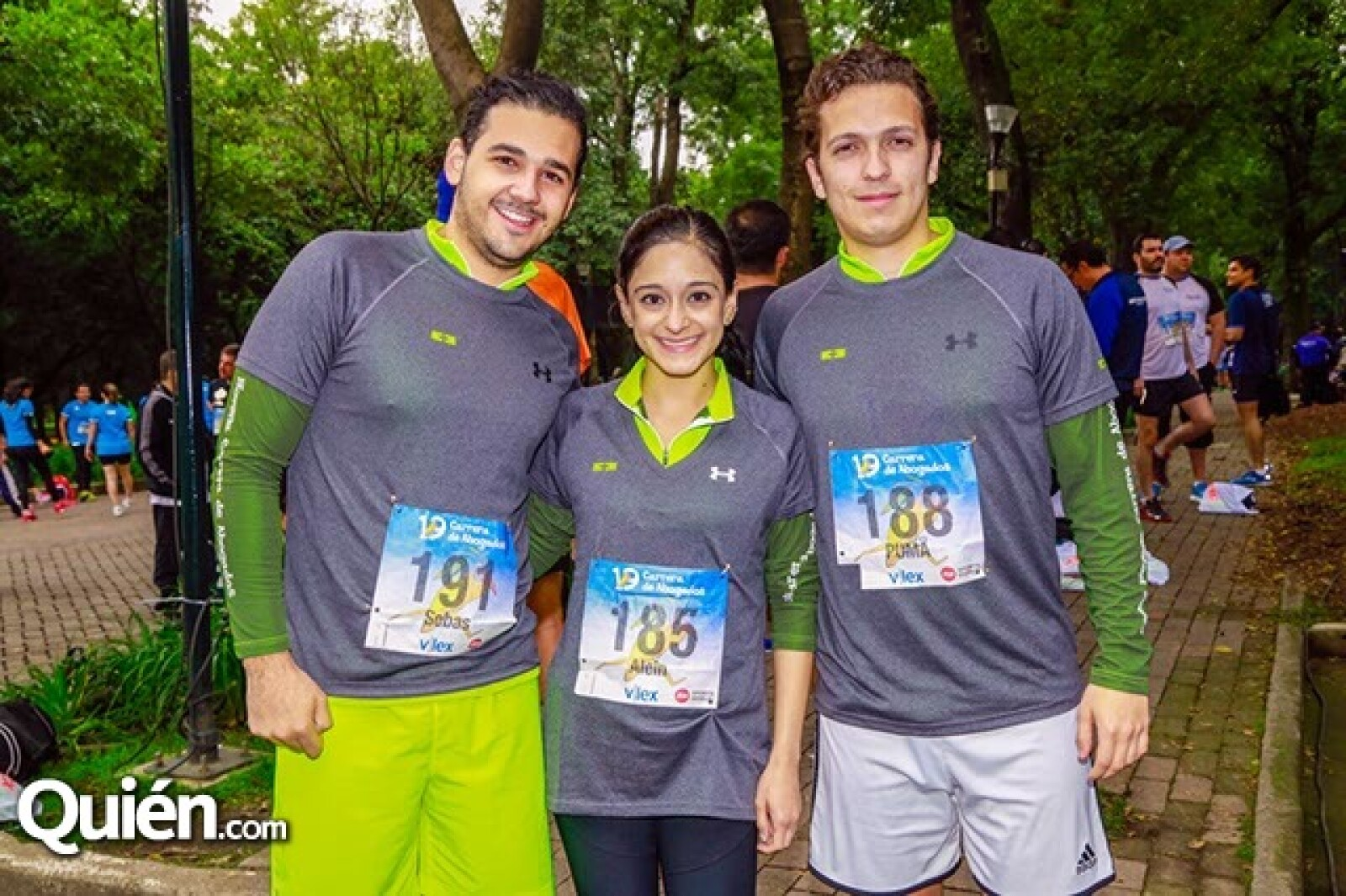 Sebastián Martínez,Aline Obregón y José Pumarejo