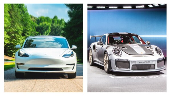 Tesla Model 3 vs Porsche 911 GT2 RS