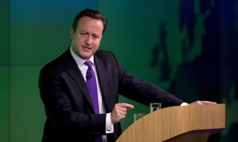 David Cameron prometió este miércoles realizar un referendo sobre si el país debe permanecer en la UE. (Foto: AP)