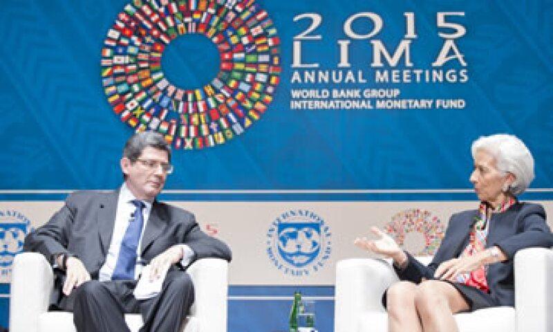 Joaquim Levy, ministro de Finanzas de Brasil, participó en las reuniones anuales del FMI y el BM. (Foto: Reuters )