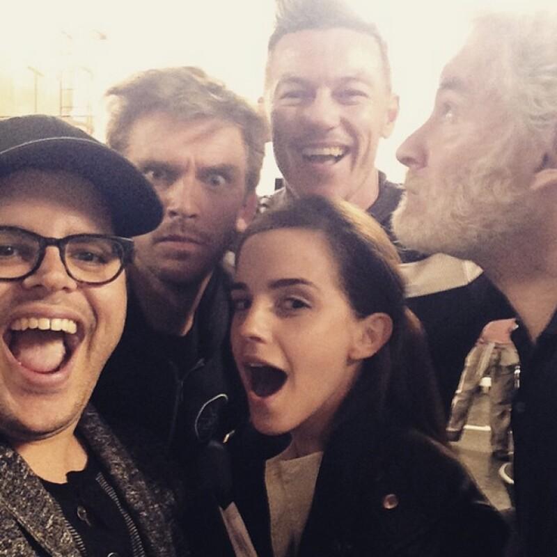 Emma Watson, Kevin Kline, Luke Evans y Dan Stevens se han reunido para afinar detalles e iniciar el rodaje de la cinta que llevará a la realidad este clásico animado de la decáda de los 90.