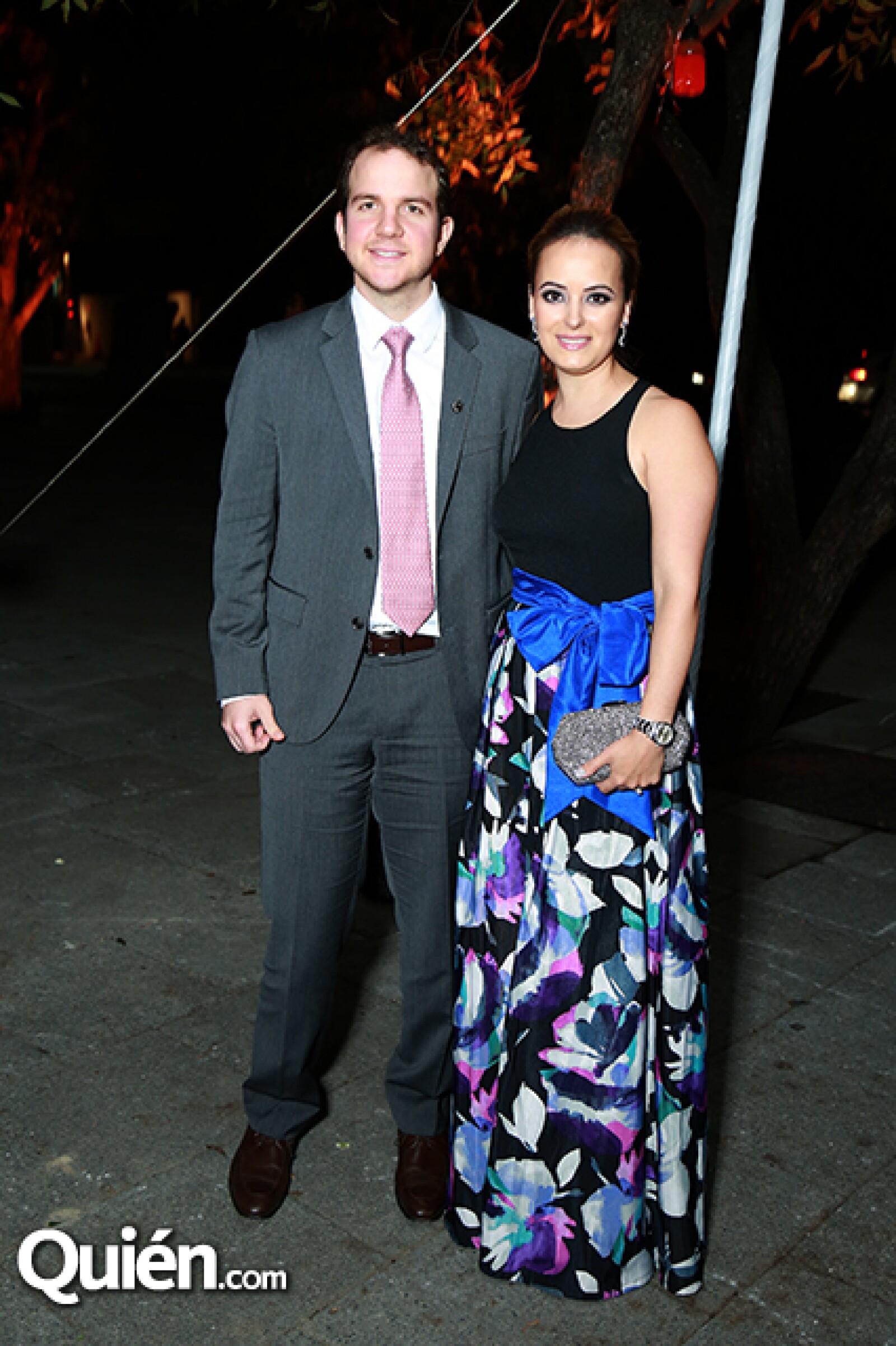 Miguel Marcos y Sofía Navarro