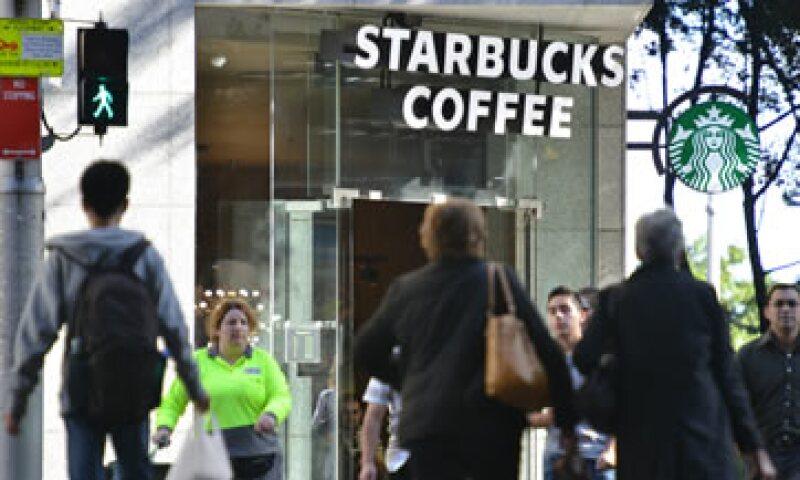 Además de abrir tiendas en Colombia, Starbucks invertirá en campos cafeteros colombianos.  (Foto: AFP)