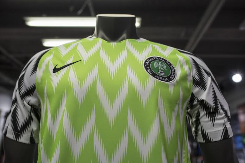 como serch mejor amado imágenes detalladas La camiseta llamativa de Nigeria gana el Mundial de la moda