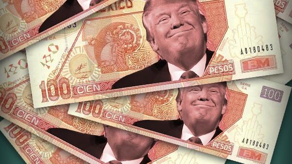Tipo de cambio. Trump