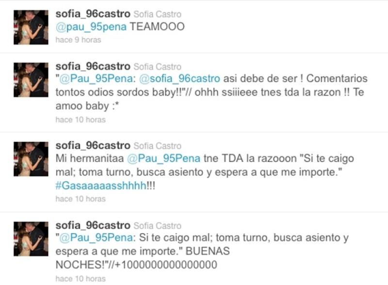 Aparentemente, la hija de Enrique Peña Nieto estrenó username en Twitter. La cuenta desde la que habría retuiteado un texto de su novio ya no está disponible.