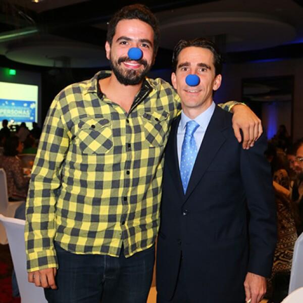 Rodrigo Aroca y Gerardo Gaya