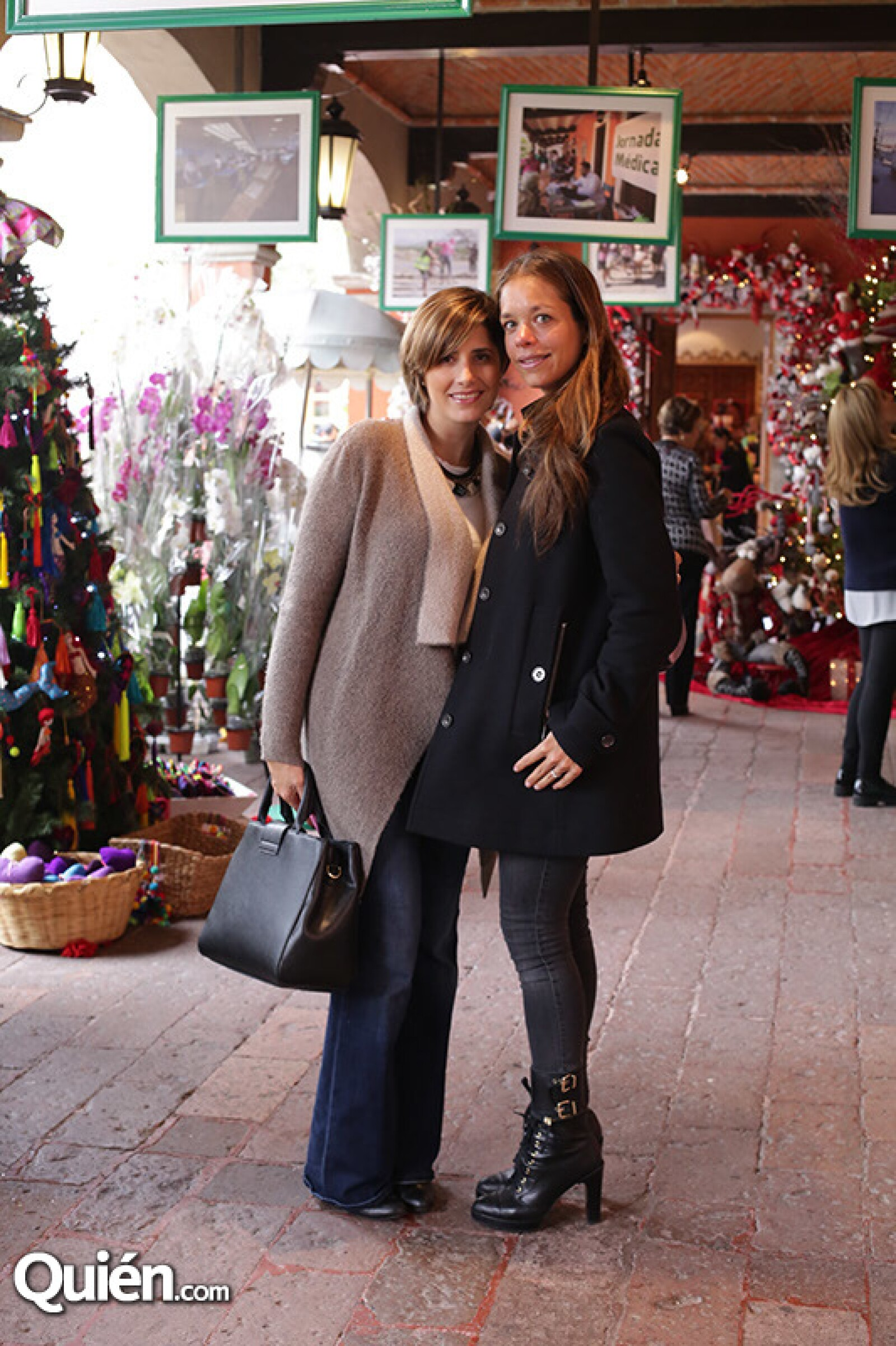 Regine Schjetnan y Gabriela Gramilla