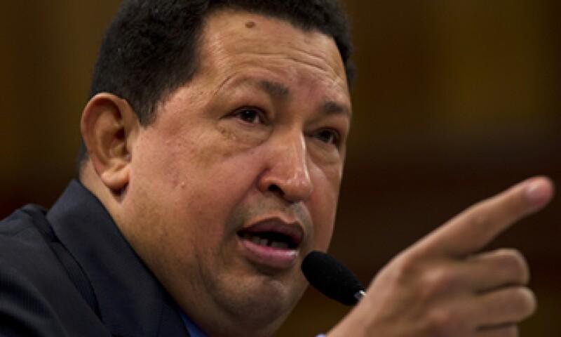 La voz de Hugo Chávez entona el himno nacional de Venezuela cada 12 horas. (Foto: Getty Images)