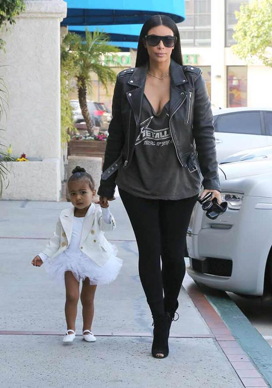 Kim ha inculcado a su hija su pasión por la moda.
