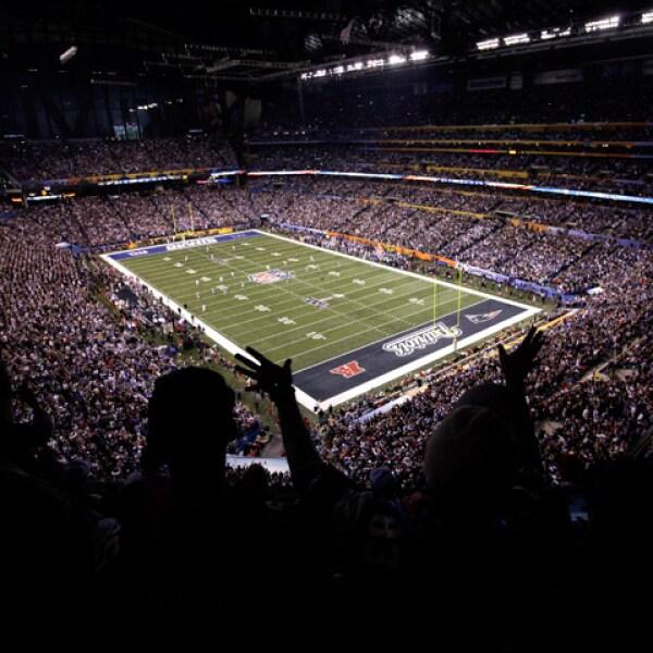 Este gran evento deportivo tuvo lugar en el estadio Lucas Oil en Indianápolis.