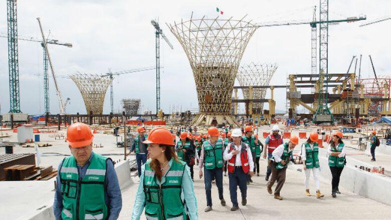 Construcción del Nuevo Aeropuerto