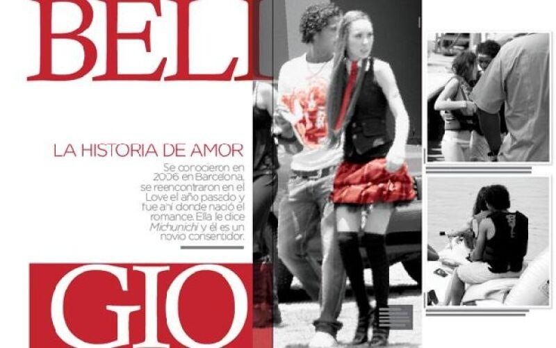 En 2009, Belinda apareció en nuestra portada. En esa edición revelamos los detalles de su relación con el futbolista.