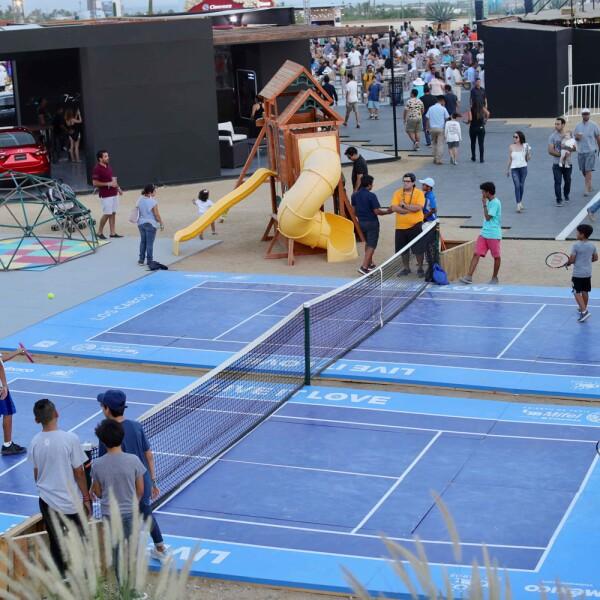 Abierto de Tenis Los Cabos miercoles
