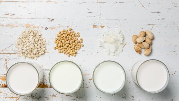 Alternativas a la leche.