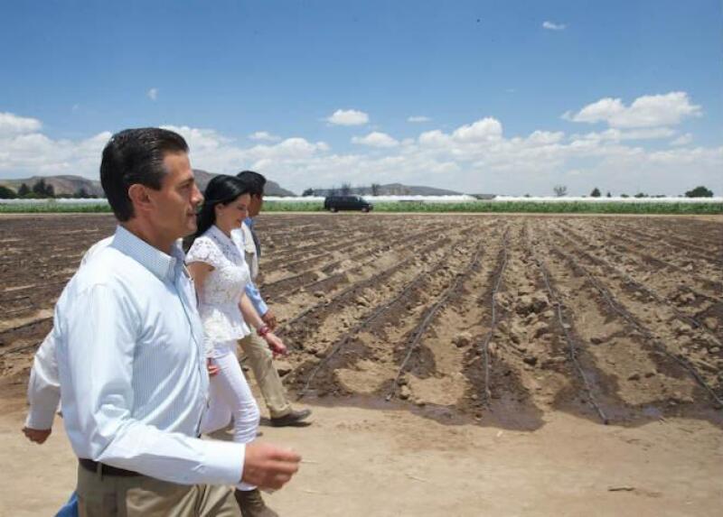 Enrique Pe�a Nieto en Aguascalientes