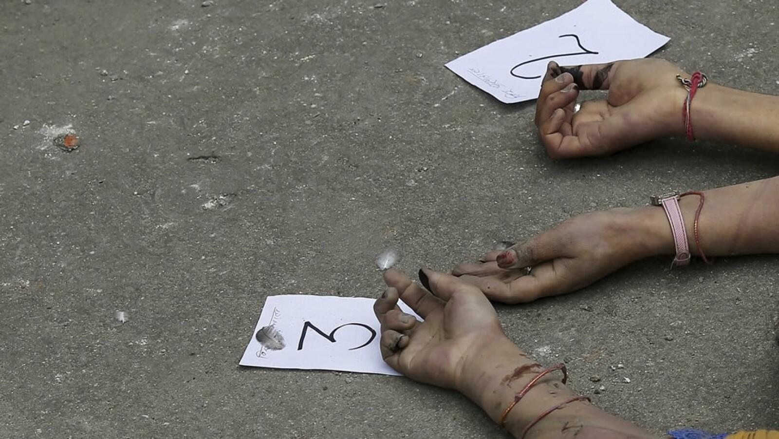 Katmandu muertos cuerpos identificacion