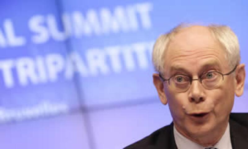 Como presidente del Consejo, Van Rompuy preside y prepara las reuniones de los líderes de la Unión Europea. (Foto: AP)