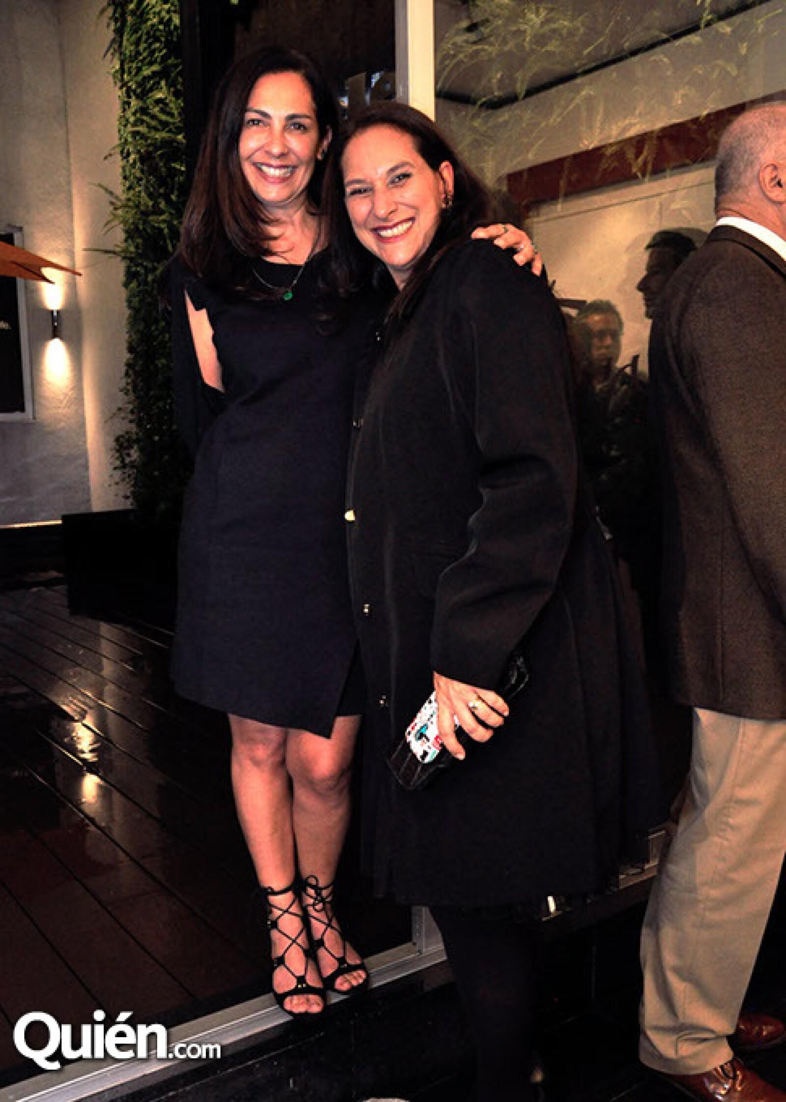 Daniela Norinder y Michelle del Monte
