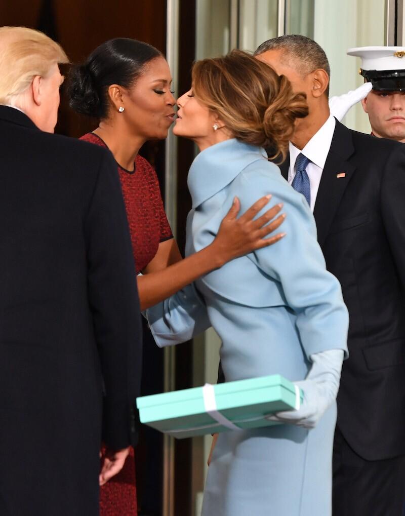 Melania y Michelle