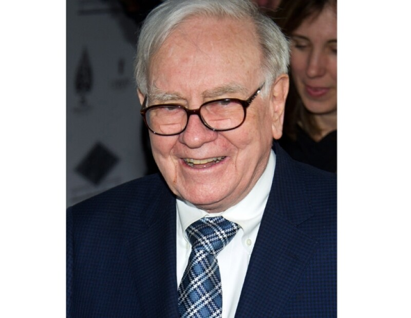 Buffett ocupó la tercera posición.