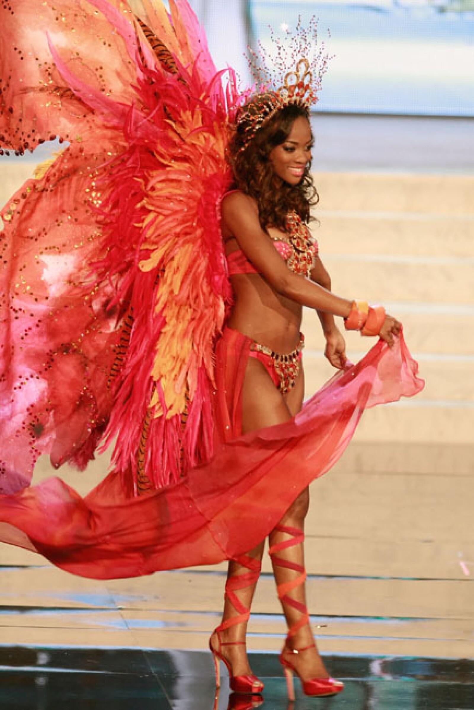 Miss Trinidad y Tobago, Avionne Mark.