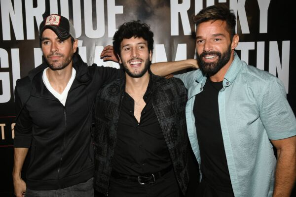 Enrique Iglesias x Ricky Martin Press Conference