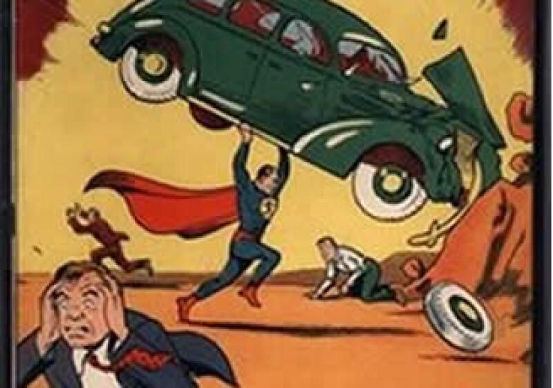 El mismo ejemplar de Superman se vendió en febrero por 1 mdd y ahora por 1.5 mdd. (Foto: AP)