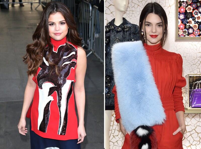 Aunque la relación entre la cantante y la supermodelo no es buena debido a Justin Bieber, al parecer Selena está al tanto de la vida amorosa de Kendall, ya que ambas comparten el mismo girl squad.
