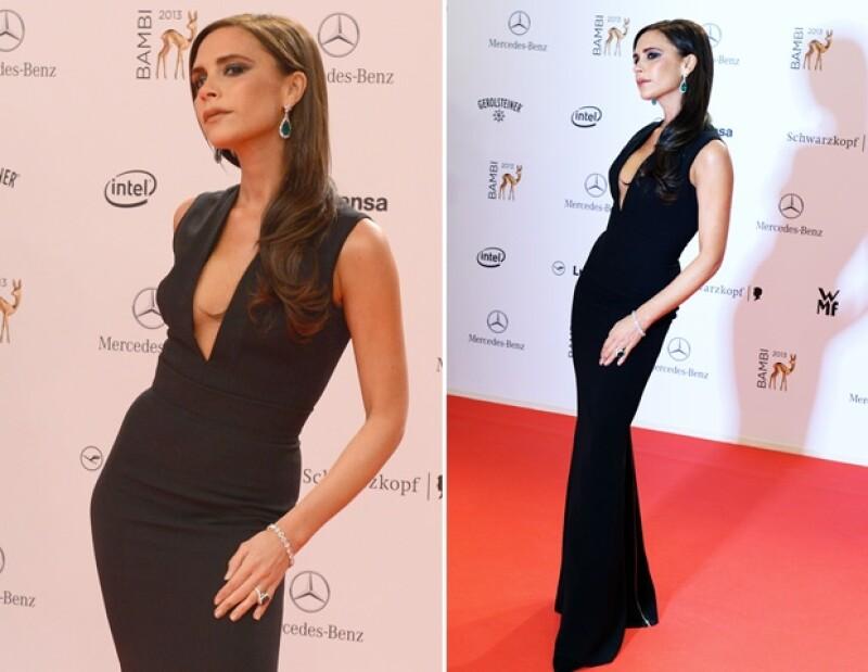 Ayer la diseñadora fue premiada en Berlín por su trabajo en el mundo de la moda, dicho galardón se lo entregó su amigo Karl Lagerfeld y no pudo evitar subir una foto de su emoción.