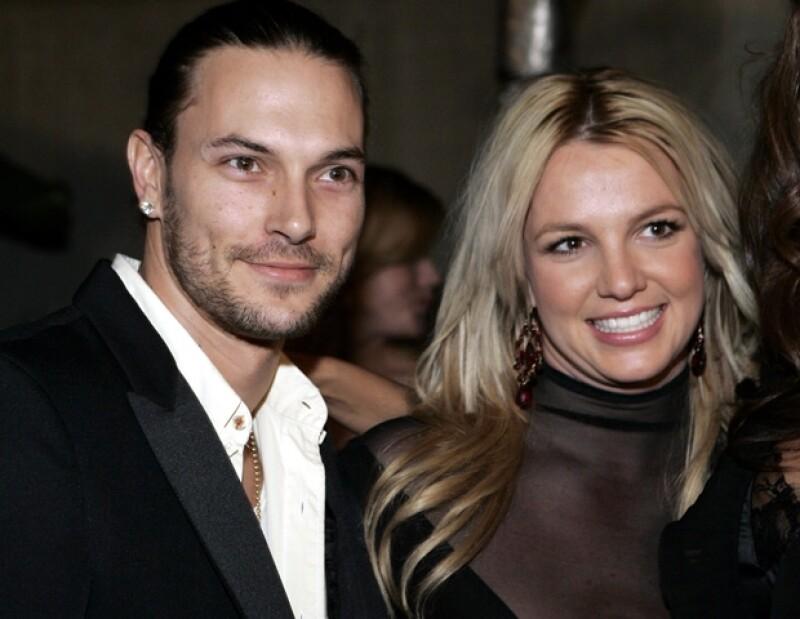 Spears y Kevin tuvieron dos hijos.