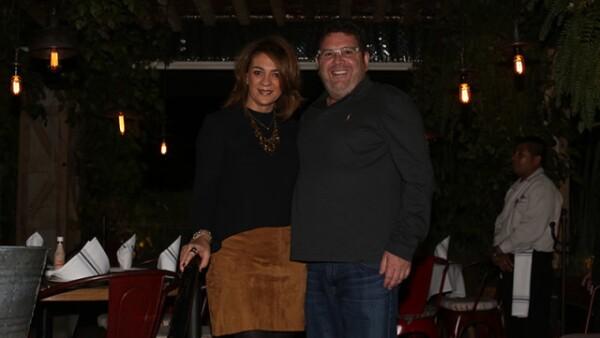 Claudia Delgado y Diego Arguélles