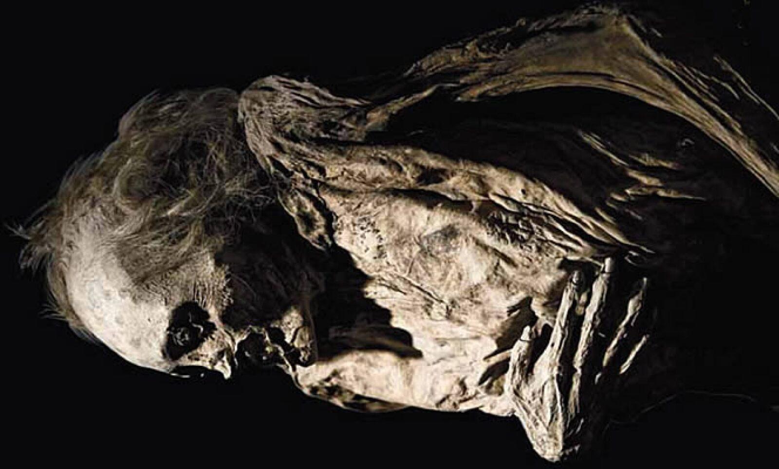 El tiempo que tarda un cadáver en deshidratarse no está documentado, se han encotrado cuerpos momificados con sólo 3 años de sepultura.