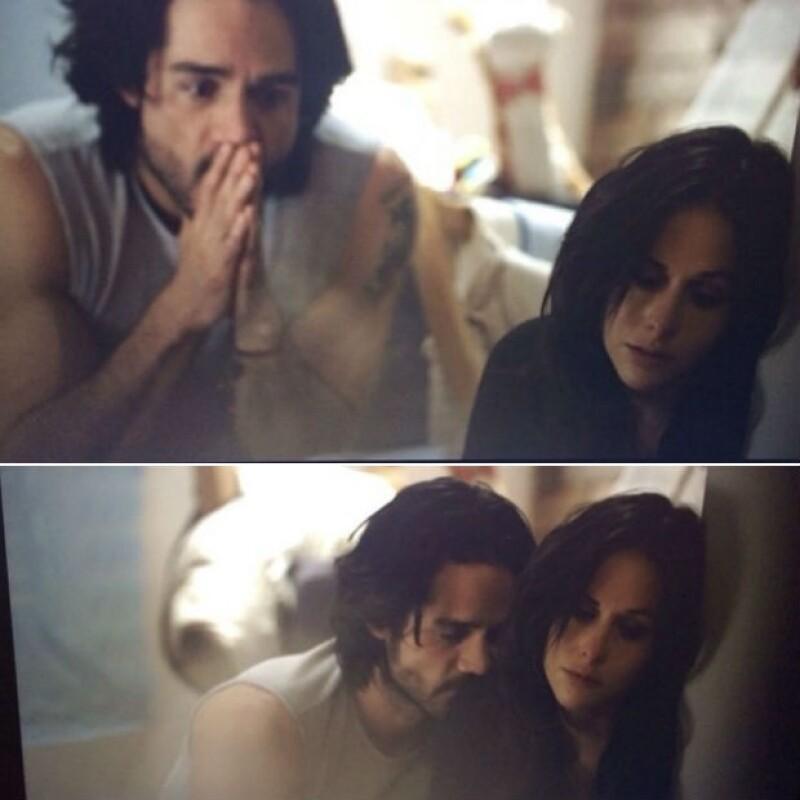 Dentro del video, José Ron y Zuria Vega tienen una relación que ha sido dañada.