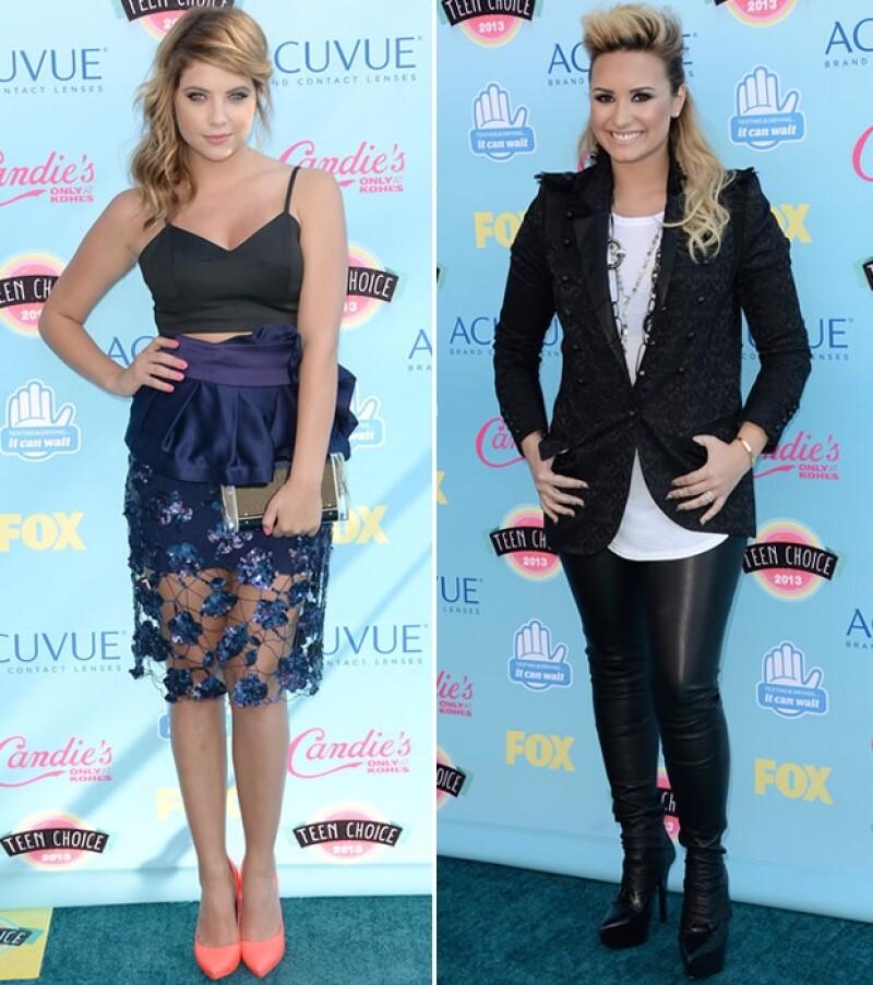 Sandra Bullock, Selena Gomez, Lucy Hale y Shay Mitchell figuran entre las más pulidas mientras que Miley Cyrus, Naya Rivera, Demi Lovato y Ashley Benson dejaron mucho que desear.
