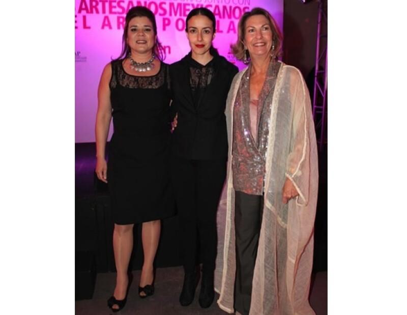 Con Sonya Santos y Cecilia Suárez en `Sublevarte´.