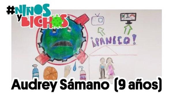 ¿Qué es el coronavirus para Audrey, de 9 años? | #NiñosYBichos