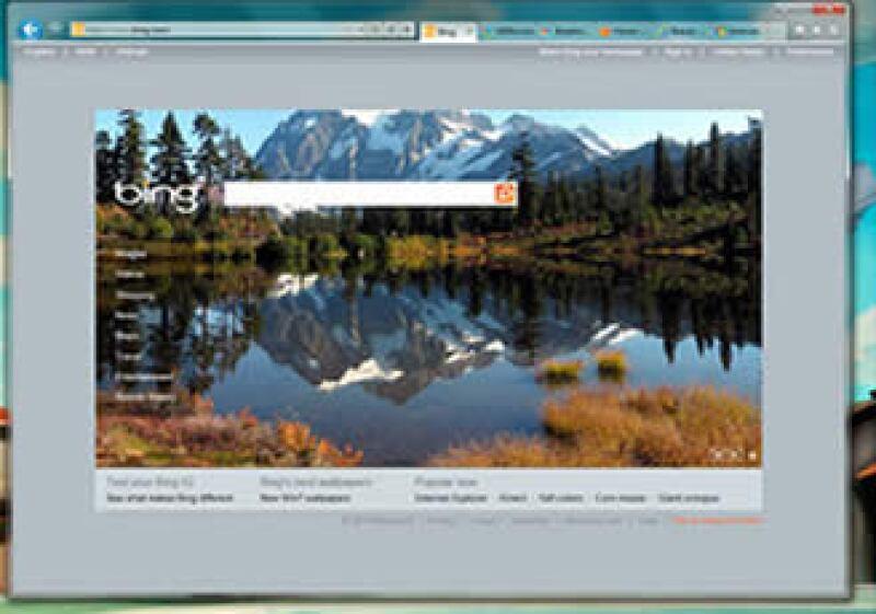 El nuevo navegador tiene menos botones, íconos y barras de herramientas en pantalla, lo que da más espacio al contenido. (Foto: Cortesía Microsoft)