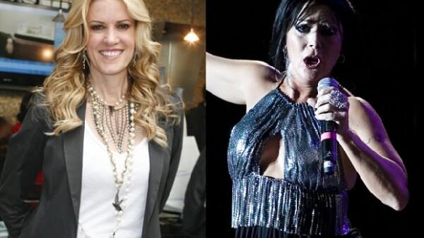 El cantante boricua aceptó que dos de las mujeres más importantes con quien tuvo un romance fueron dos mexicanas; la conductora y la rockera.