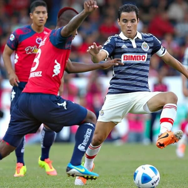 Veracruz y Chivas empataron 1-1