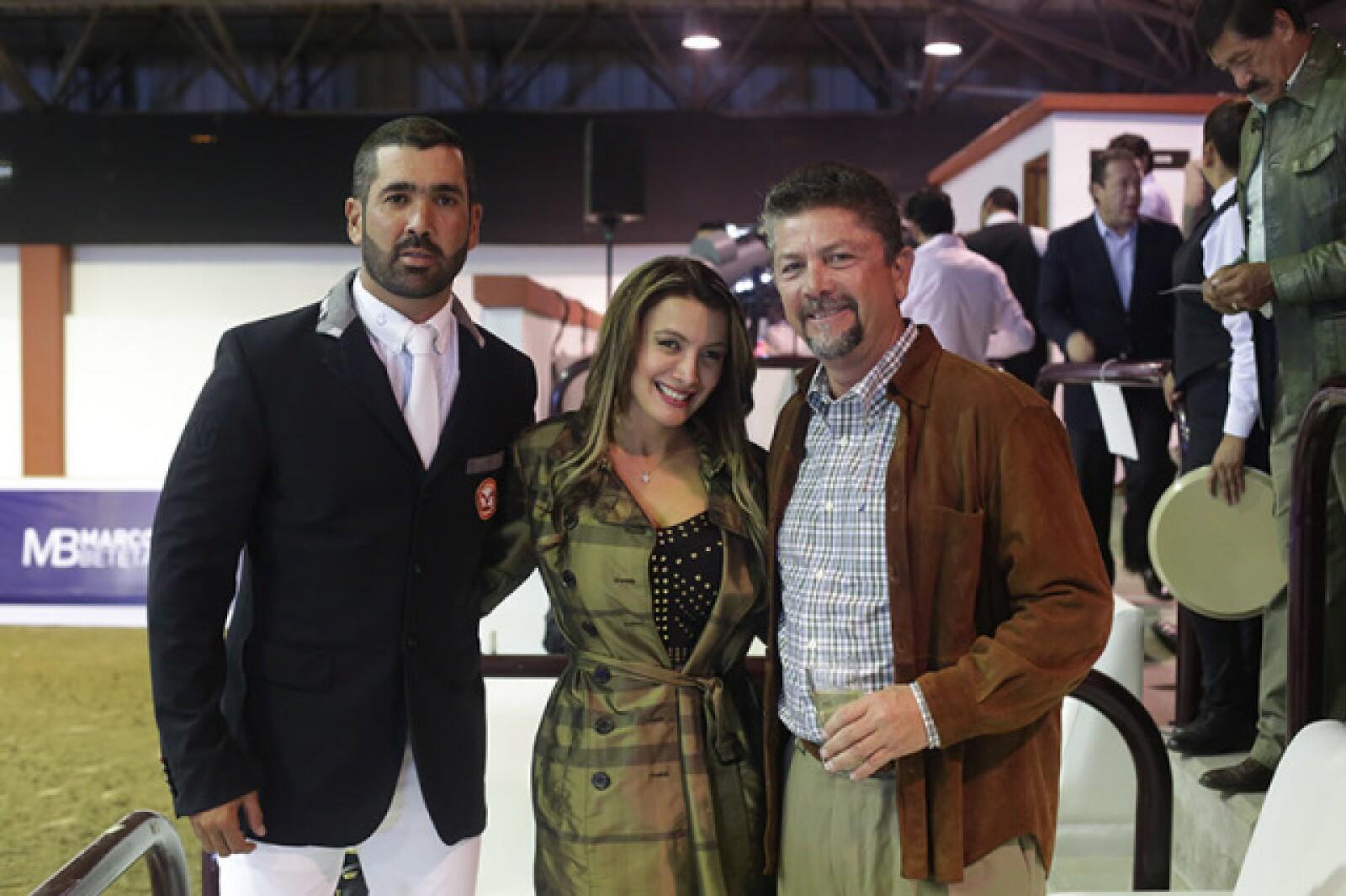 Jacobo Said,Desireé Guzman y Ricardo Barceló