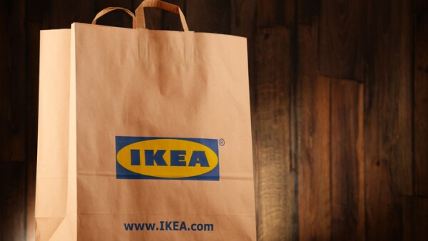Original IKEA paper shopping bag