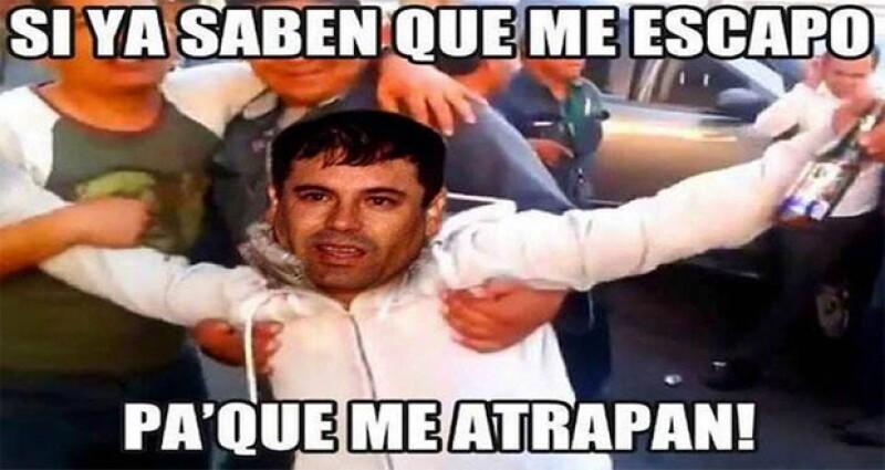 Tras la segunda captura de Joaquín Guzmán Loera, las bromas sobre el evento no se hicieron esperar.
