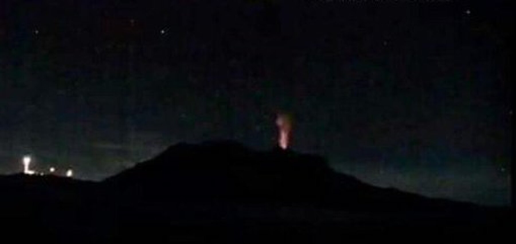 Iztaccíhuatl erupción